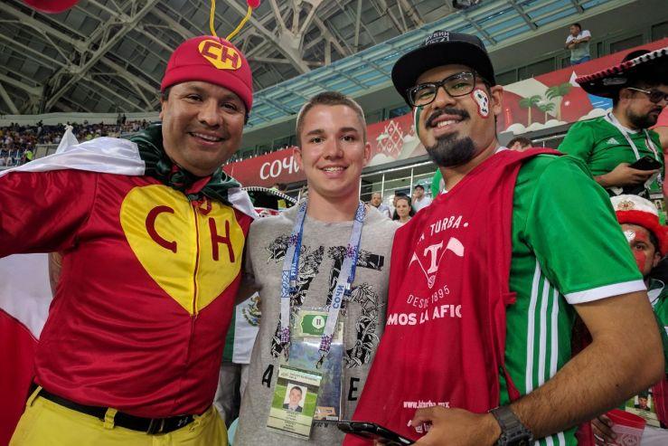 Волонтёры ВГУЭС на Кубке Конфедераций 2017