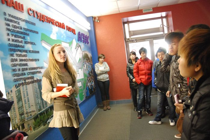 Студенты из Китая хотят учиться во ВГУЭС