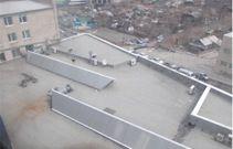 Рис 3. Фотография крыши Зимнего сада
