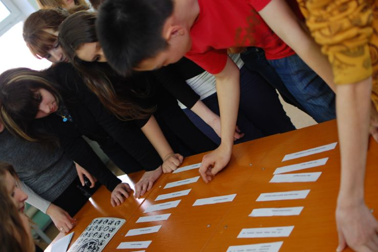 Студенты заботятся о том, чтобы лицеисты ВГУЭС обходились без вредных привычек