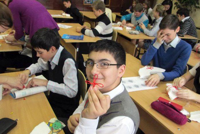 Открытый урок по плетению китайских узелков «Чжунго цзе»