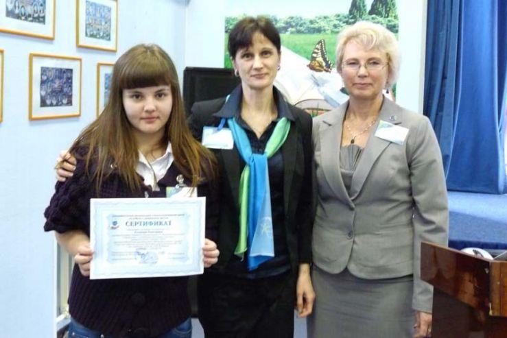Сертификат на льготное обучение получила победительница «Интеллектуального турнира»