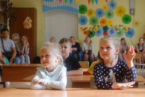 В ШИОД начала  работу субботняя школа для дошколят