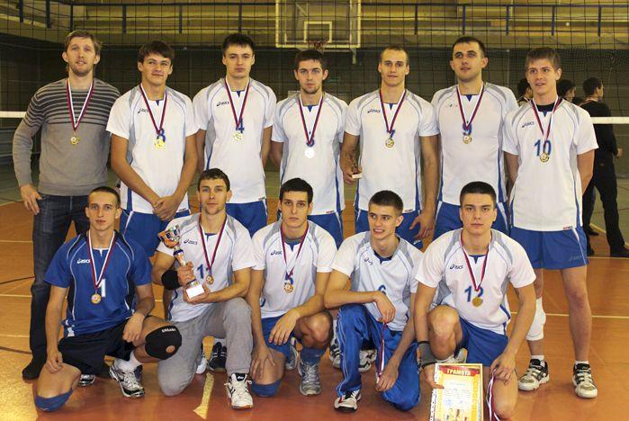 Сборная команда ССК ВГУЭС – обладатель Кубка Приморского края по волейболу