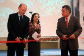 Торжественная церемония открытия выставочной площадки Приморской Венчурной Ярмарки