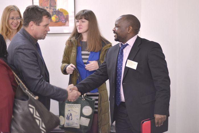 Сотрудники посольства ЮАР в Российской Федерации посетили ВГУЭС