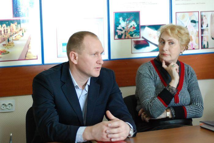 Представители АТП «Приморье» встретились со своими коллегами — студентами ВГУЭС