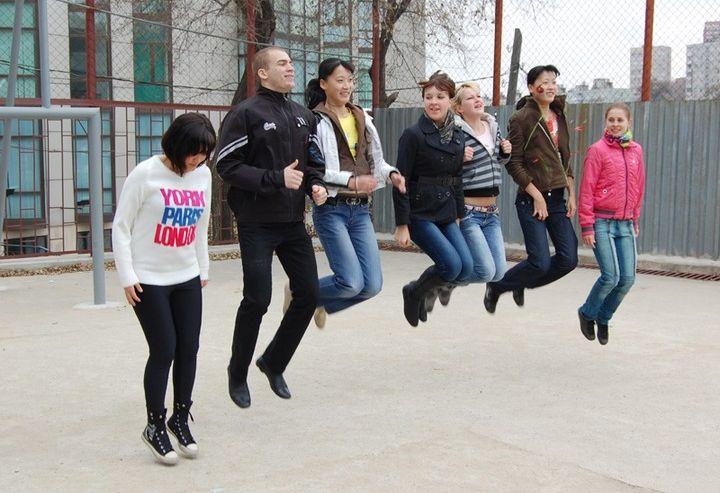 Скипинг – новое увлечение жителей студгородка ВГУЭС