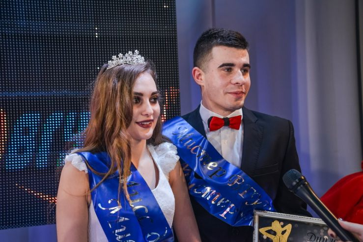 Юлия Вершинина и Владислав Орёл – мисс и мистер ВГУЭС