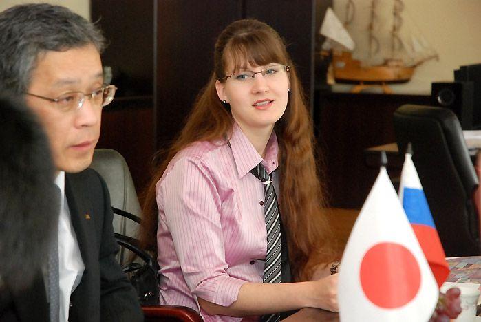 Ректор ВГУЭС Геннадий Лазарев обсудил вопросы дальнейшего сотрудничества с представителями делегации префектуры Тояма