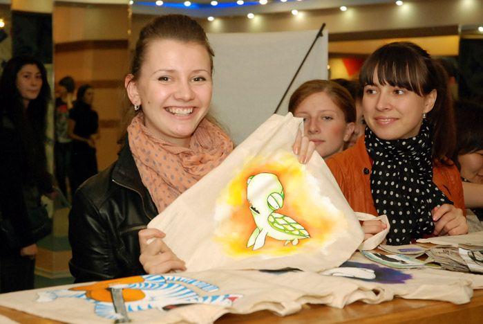 Во ВГУЭС прошёл первый в городе показ эко-моды «Эко невидаль»