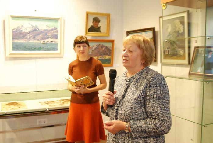 Выставка Ивана Рыбачука открылась в музее ВГУЭС