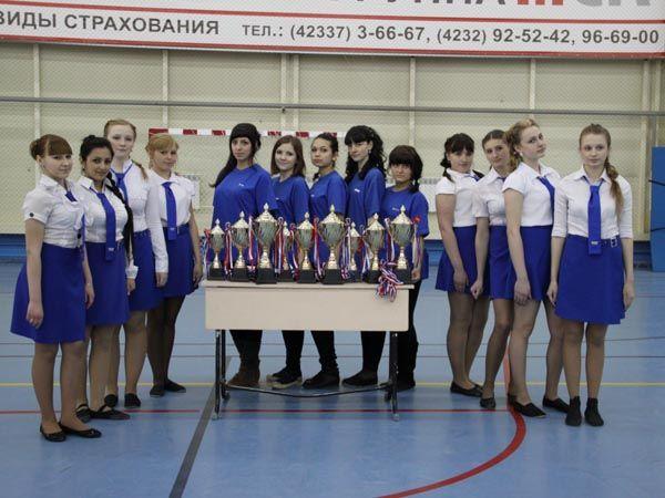 Студенты института и колледжа приняли участие в соревнованиях в честь праздновании юбилея Физкультурно-оздоровительного комплекса г. Артема