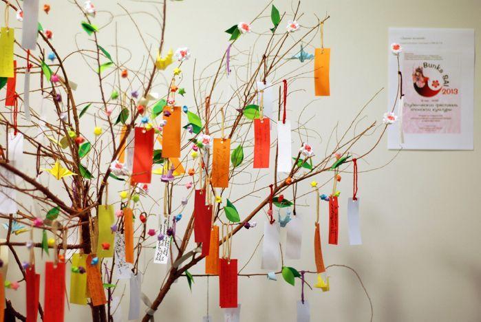 Дерево на праздник своими руками