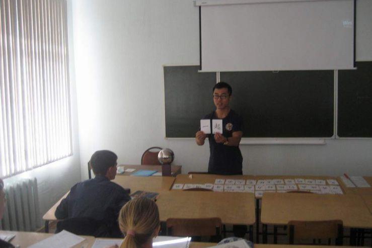 Иностранные преподаватели из КНР работают в филиале ФГБОУ ВПО «ВГУЭС» в г. Находке