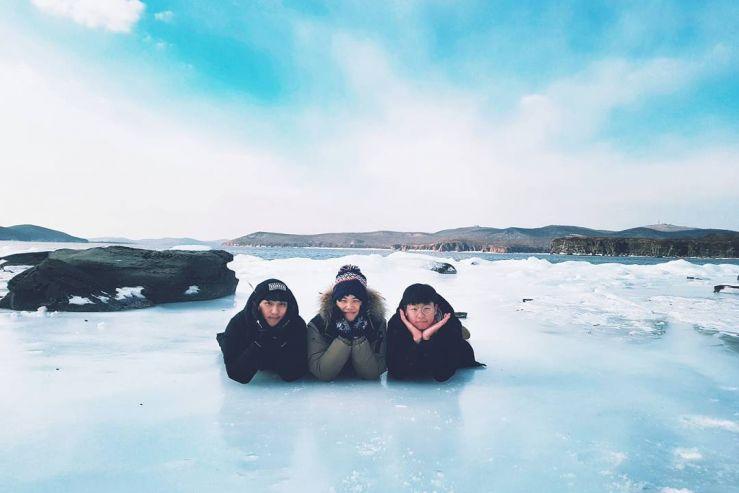 Зимние забавы иностранных студентов