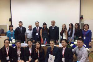 В день 50-летия ВГУЭС состоялась встреча магистрантов из России и Китая в рамках научного форума