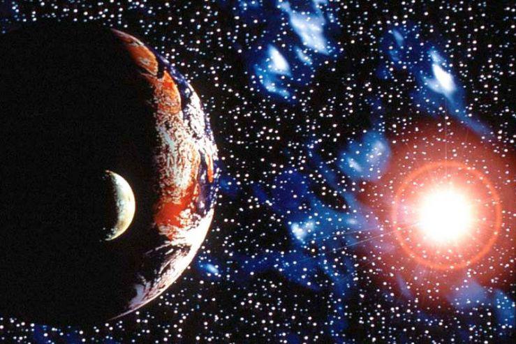 Пятиклассники школы побывали в космическом путешествии