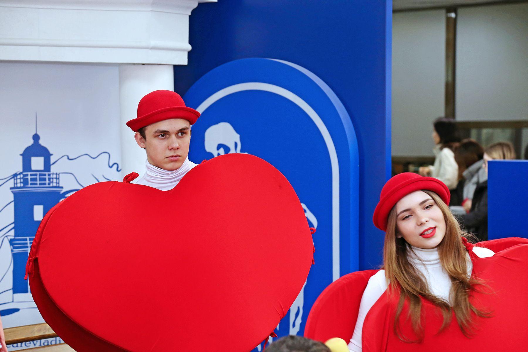 Праздник студентов ВГУЭС, посвященный Дню всех влюбленных