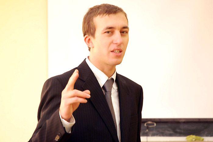 Приглашенный спикер рассказал студентам, почему нужно участвовать в выборах