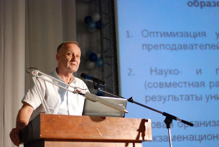Ректор ВГУЭС: что сделать, чтобы диплом ВГУЭС высоко ценился