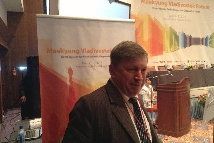 Профессор ИМБЭ Александр Латкин выступил на российско-корейском форуме «Мёиль Кёндже».