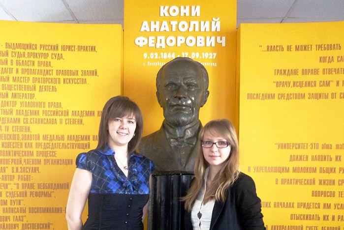 Студенты-юристы дружат с Центром «Абитуриент» ВГУЭС