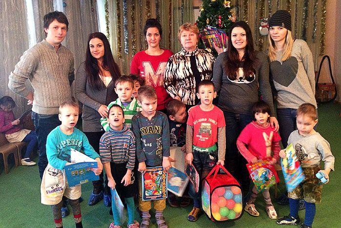 Студенты ВГУЭС навестили ребят из детского дома