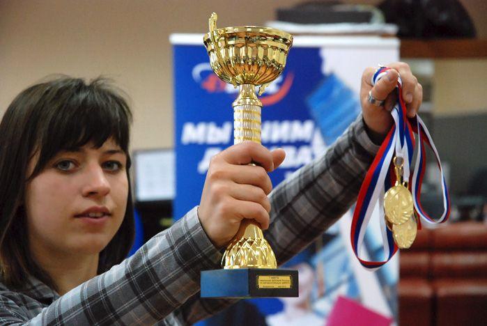 Студентка ВГУЭС стала победителем чемпионата ДВФО по автомногоборью
