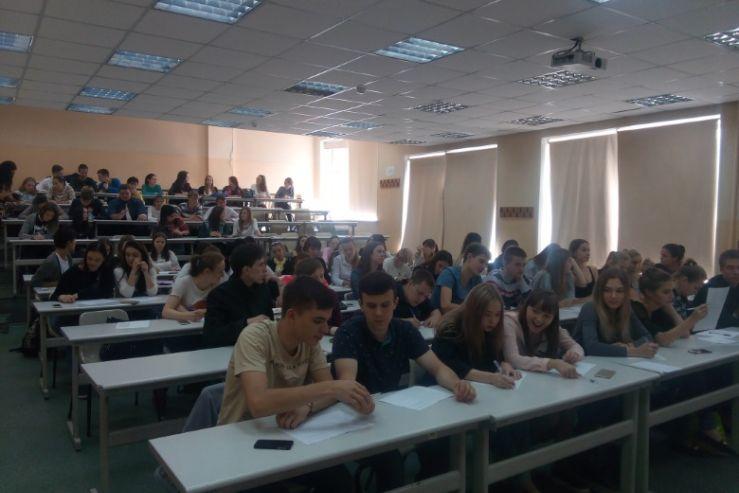 Первокурсники кафедры