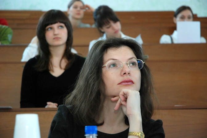 На конференции студентов, аспирантов и молодых исследователей самыми молодыми исследователями стали ученики гимназии № 2.