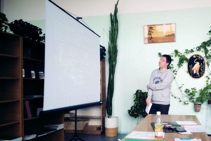 Студенты 4 курса направления «Экология и природопользование»: «Моя неделя во ВГУЭС»