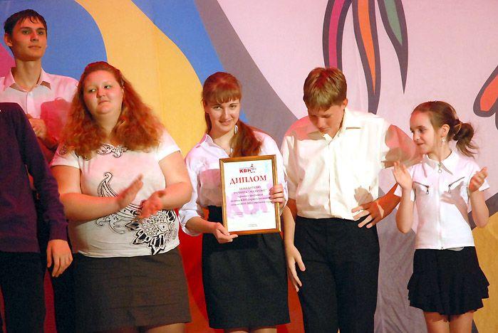 Лицеисты ВГУЭС – призеры краевого конкурса КВН