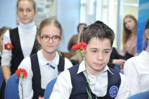 Память Николая Николаевича Дубинина почтили на торжественной линейке