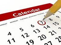Календарь событий НОШДС