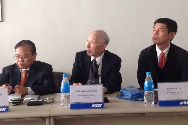 Встреча представителей японского университета и преподавателей кафедры МЭМО
