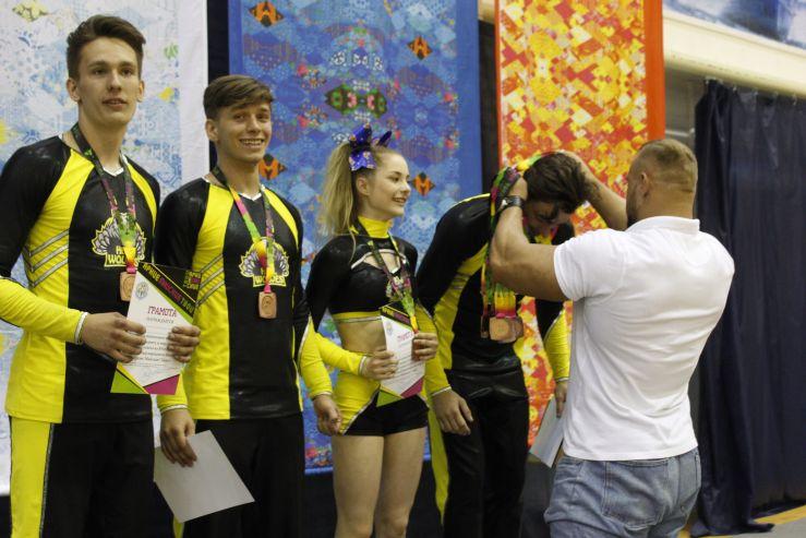 Студенты ВГУЭС – призёры международного фестиваля по чирлидингу в Анапе