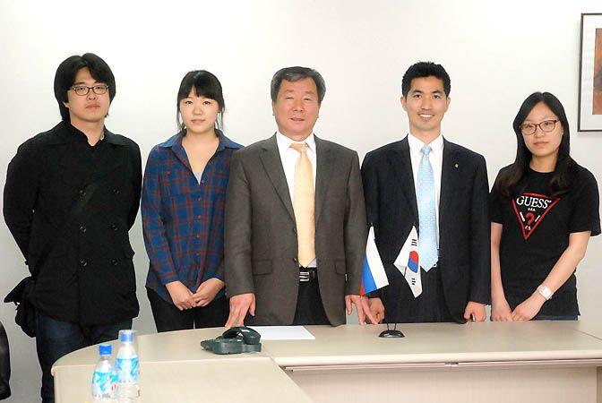 Делегация корейского университета Санг Менг посетила ВГУЭС.
