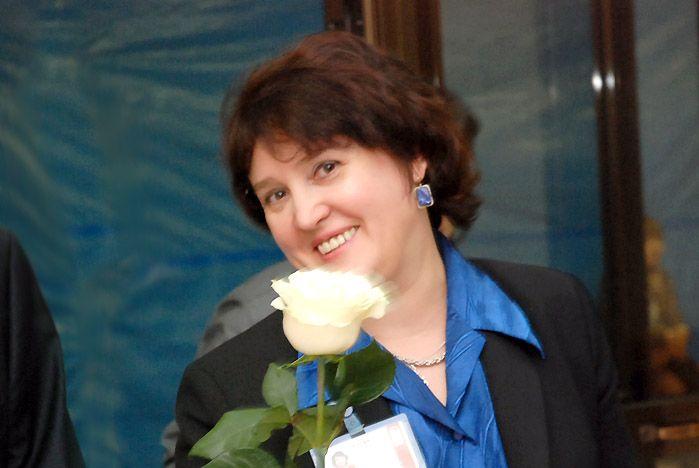 Поздравляем проректора по учебной работе ВГУЭС, Черную Ирину Петровну