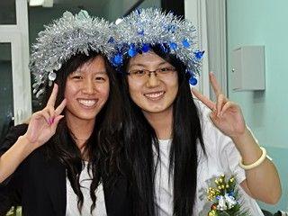 Новый год в кампусе – интернациональный праздник!
