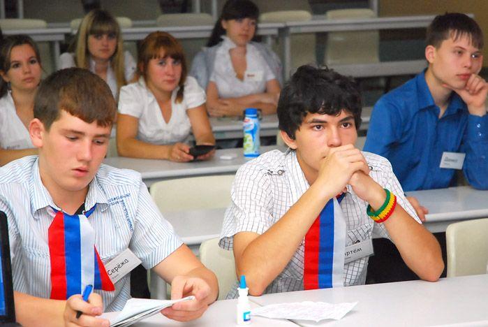 Старшеклассники Надеждинского района разработали во ВГУЭС социальные проекты поддержки ветеранов и малоимущих семей