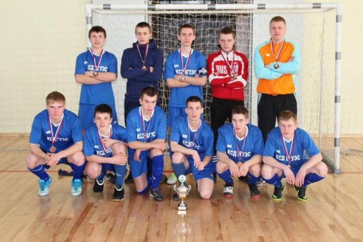 3 место на Краевом этапе Всероссийских соревнований «Мини-футбол в школу»