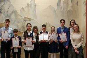 Ученики Восточного отделения ШИОД заняли призовые места на Региональной научно-практической конференции школьников по китайскому языку