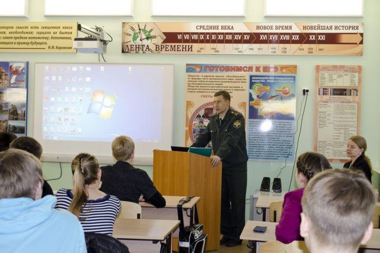 Лекция, посвященная проблеме наркомании, была проведена для студентов АК сотрудником Федеральной службы по контролю за оборотом наркотиков