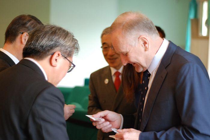 ВГУЭС посетила делегация из префектуры Тоттори