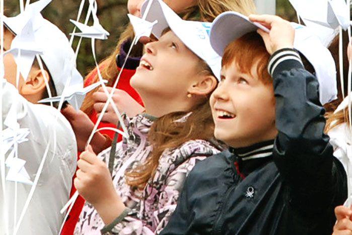 Дорогие друзья! Поздравляю Вас с ярким, летним праздником – Международным Днем защиты детей!