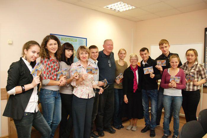 Ларри и Джуди Олсон: «В России удивительные люди»