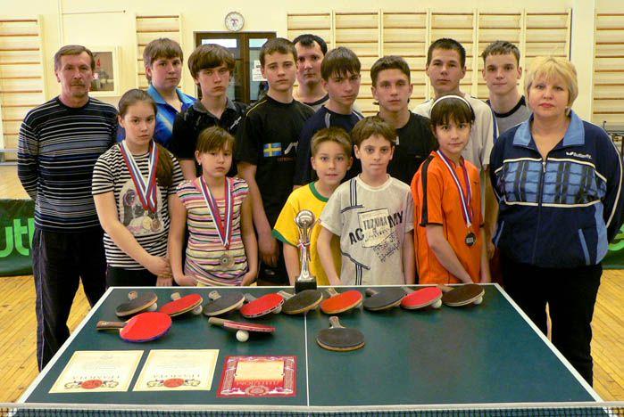 Секция настольного тенниса ВГУЭС растит чемпионов