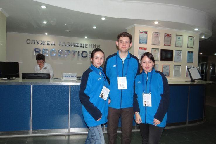 В Сочи волонтеров ВГУЭС приветствуют спортсмены из разных стран