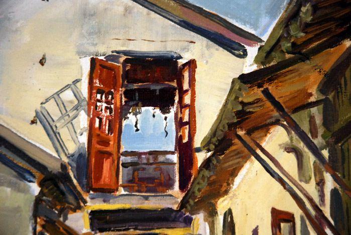 На открытии персональной выставки художницы Оксаны Медведевой звучали песни Булата Окуджавы